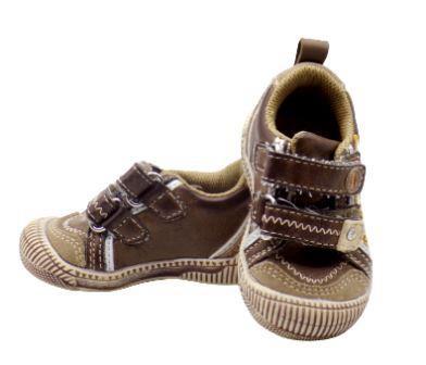 Chaussures - Chaussons bébé Écriture Cuir