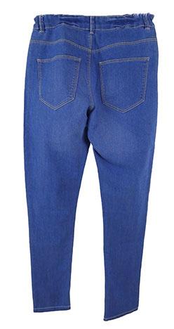 Jeans  Uni Synthétique